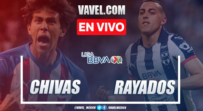 Goles y Resumen: Chivas de Guadalajara1-1 Rayados de Monterrey en Liga MX 2020