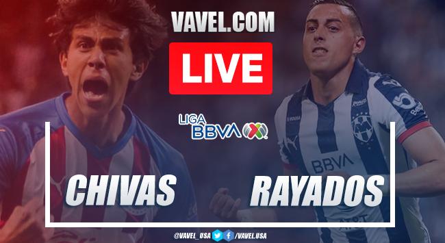 Goals and Highlights: Chivas Guadalajara 1-1 Rayados Monterrey in 2020 Liga MX