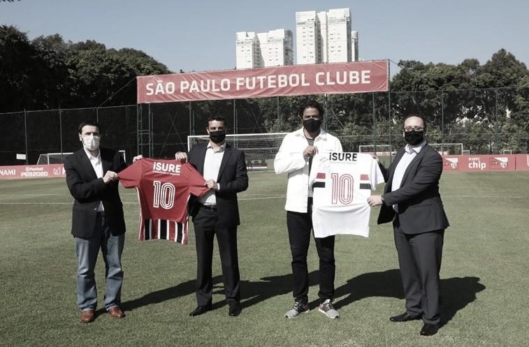 São Paulo anuncia patrocínio de R$ 6 milhões com a iSURE