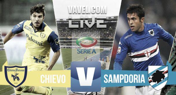 Risultato Chievo - Sampdoria di Serie A 2015/16 (1-1): tutto nel primo tempo, Inglese risponde a Eder