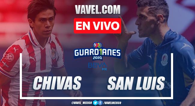 Goles y Resumen: Chivas 2-1 Atlético de San Luis en Liga MX 2020