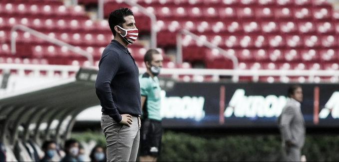 """Edgar Mejía: """"Lo que no debe bajar es la intensidad y lucha"""""""