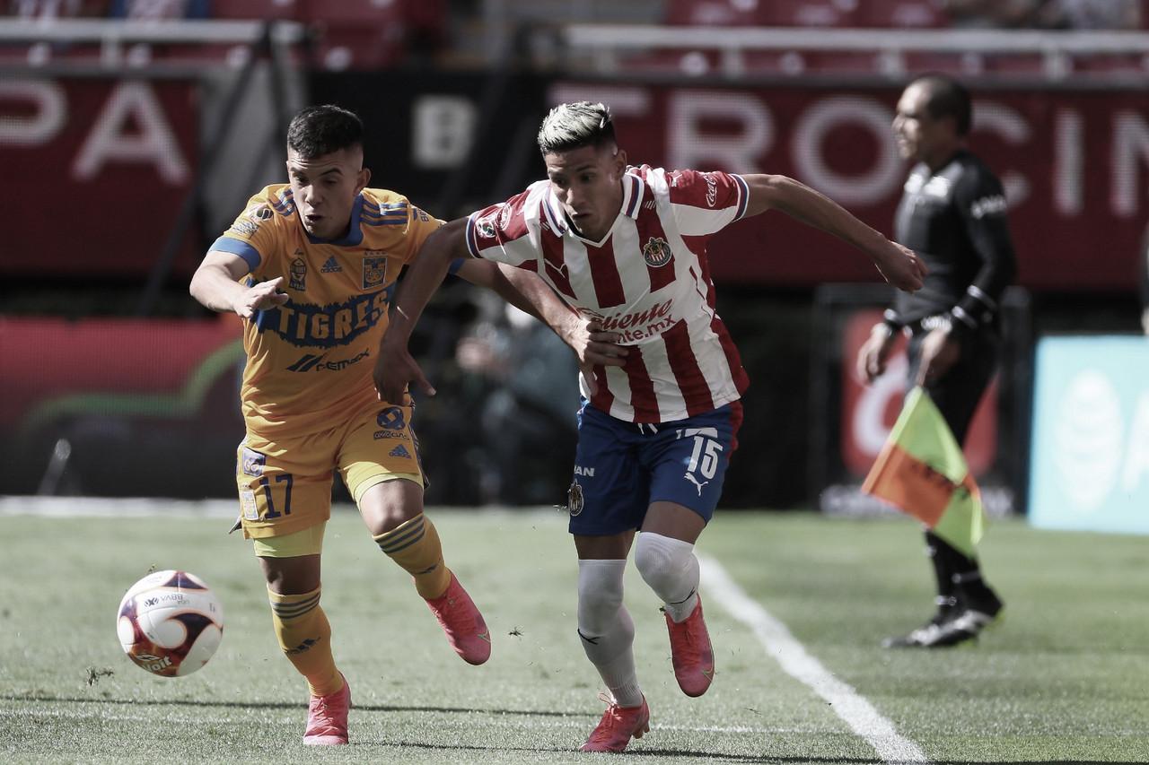 Chivas y Tigres no se hacen daño en la jornada final