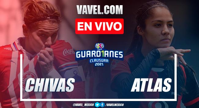 Resumen y goles: Chivas 2-1 Atlas en Semifinal de Vuelta de la Liga MX Femenil Guard1anes 2021
