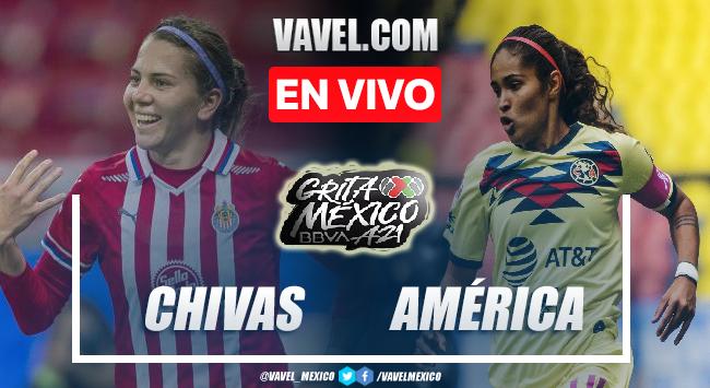 Goles y resumen del Chivas Femenil 2-1 América Femenil en Liga MX Femenil