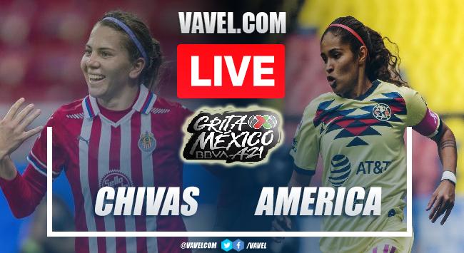 Goals and Highlights: Chivas Femenil 2-1 America Femenil in Liga MX Femenil