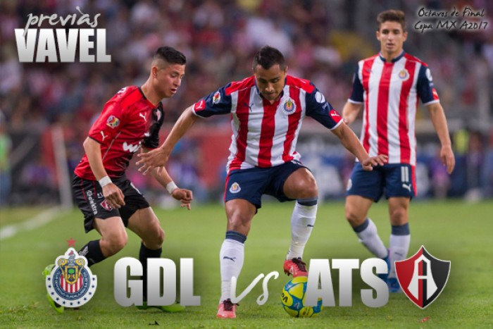 Previa Chivas vs Atlas: Por el todo o nada en la Copa