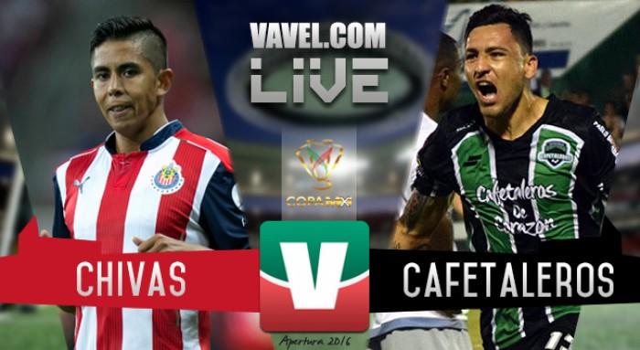 Chivas derrota por la mínima a Cafetaleros