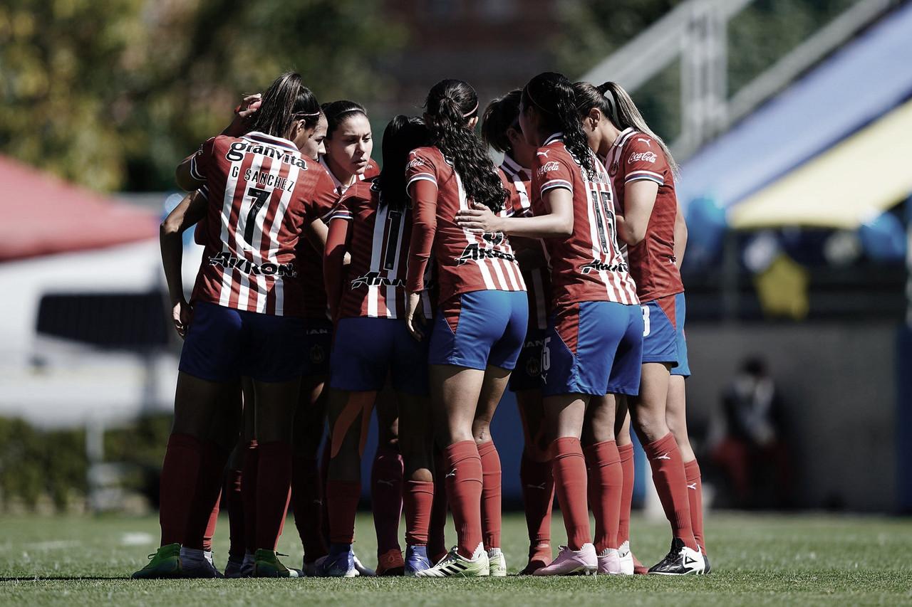Chivas Femenil anuncia bajas para el Clausura 2021