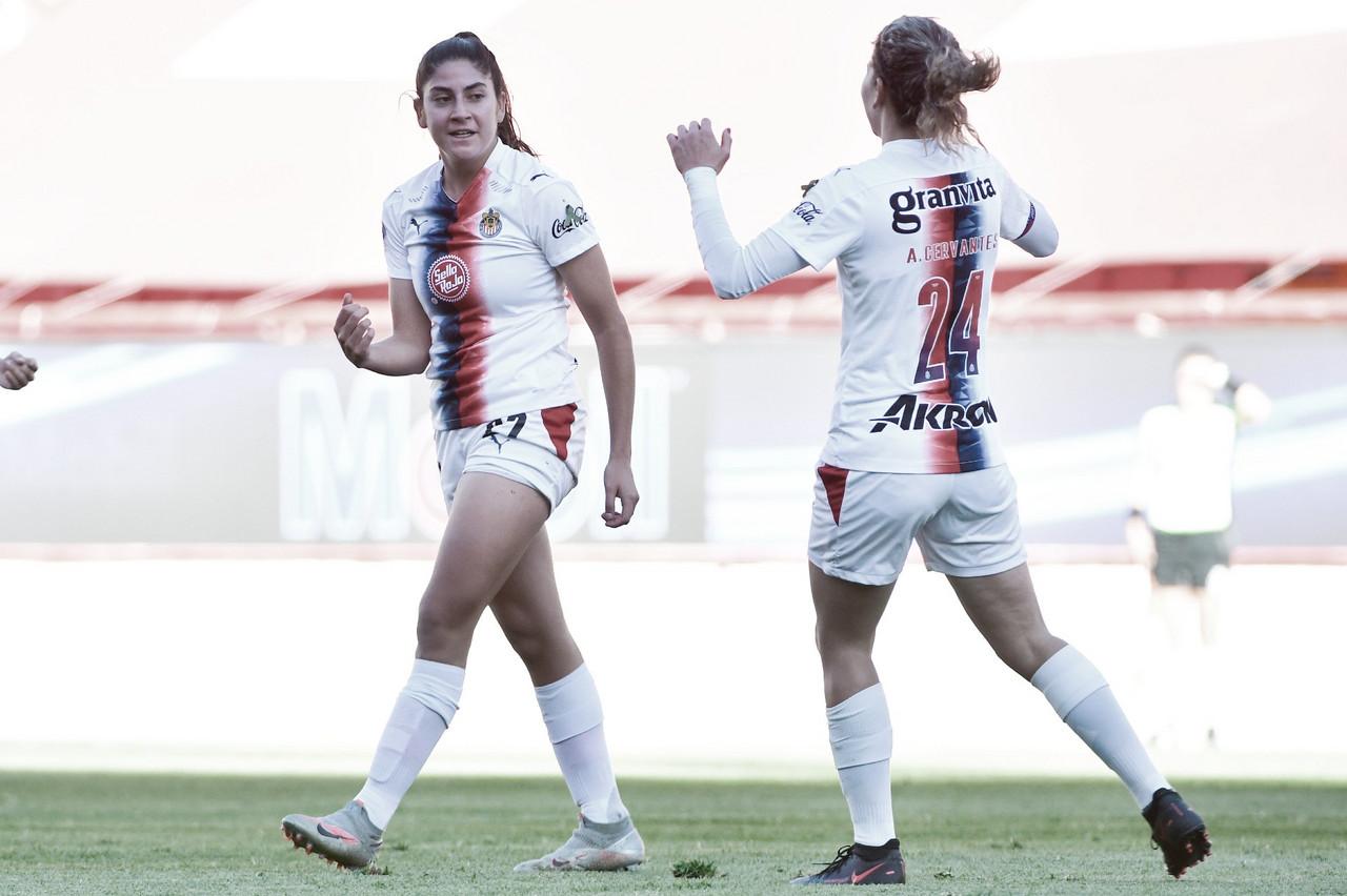 Chivas Femenil sale de Aguascalientes con tres puntos