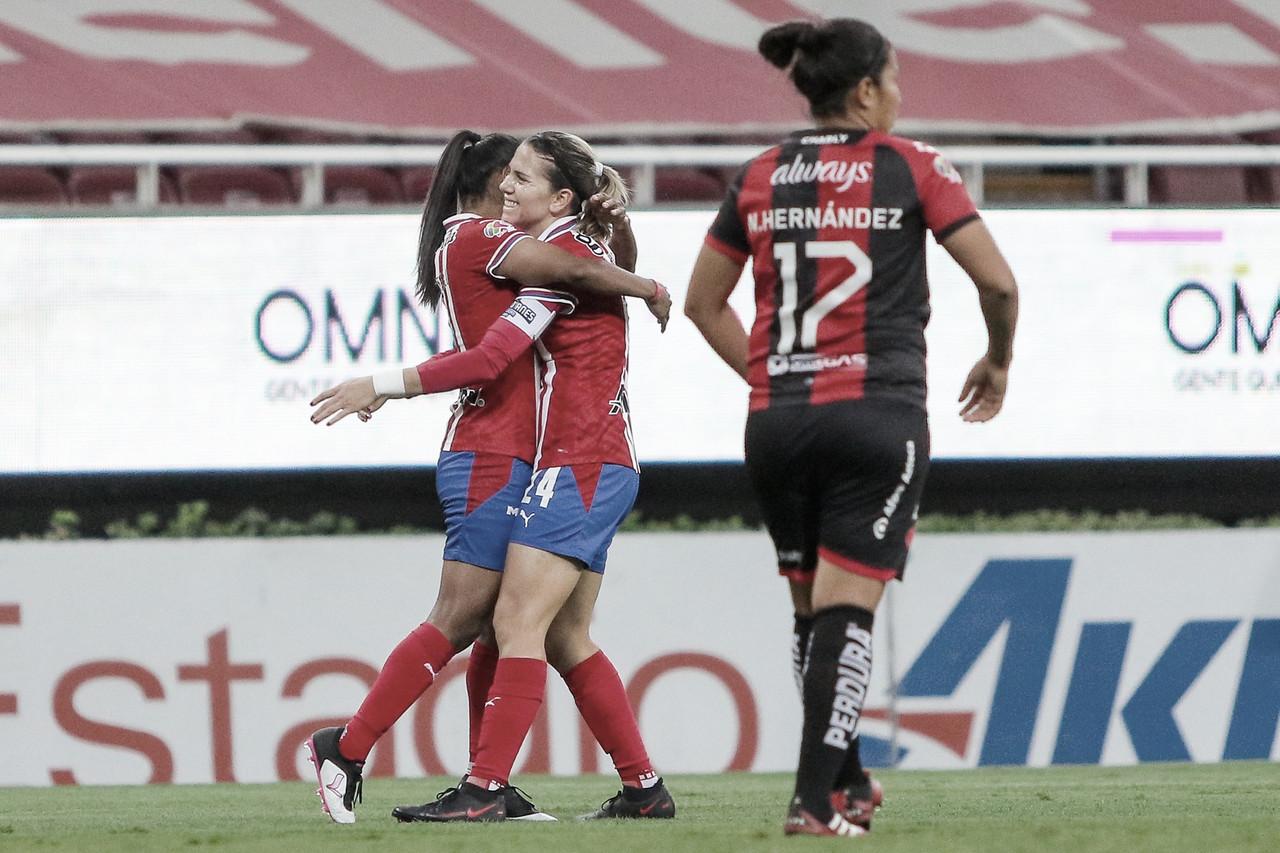 Chivas Femenil se lleva el Clásico Tapatío y el pase a la final