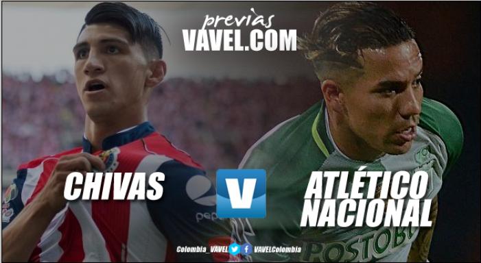 Atlético Nacional enfrentará mañana a Chivas de México