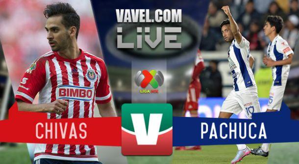 Resultado Chivas - Pachuca en Liga MX 2015 (4-4)