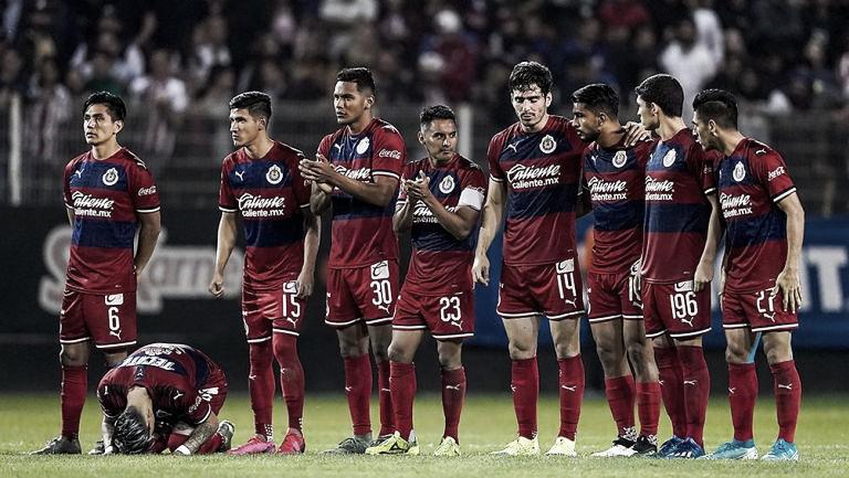 Fracaso de Chivas en la Copa MX