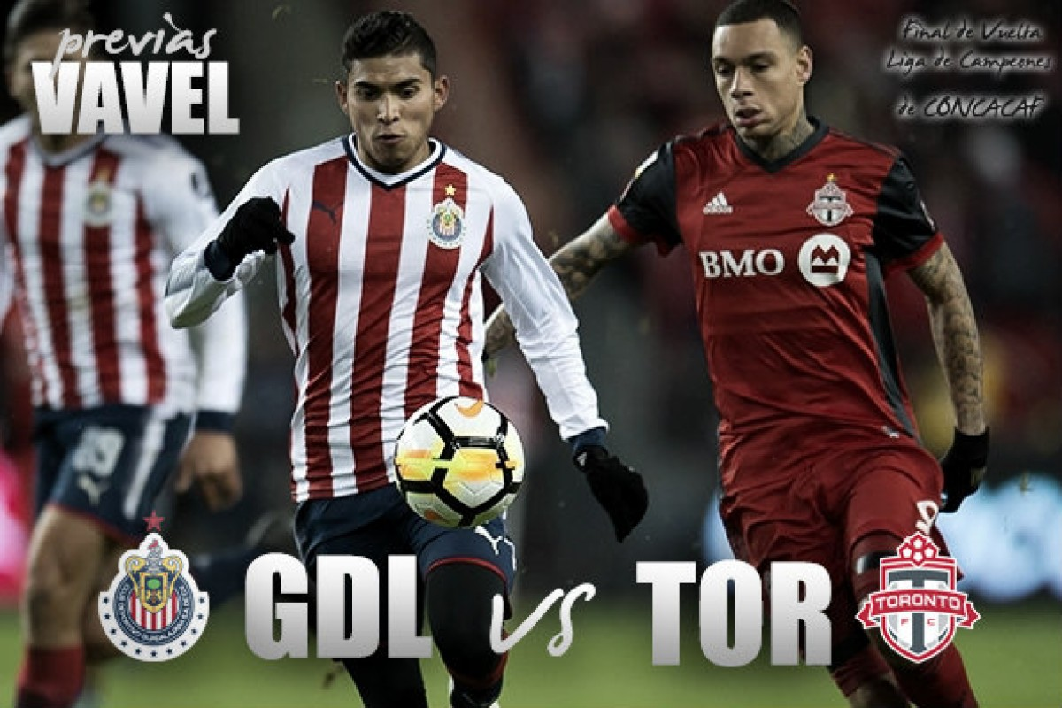 Previa Chivas - Toronto FC: 90 minutos para la gloria continental