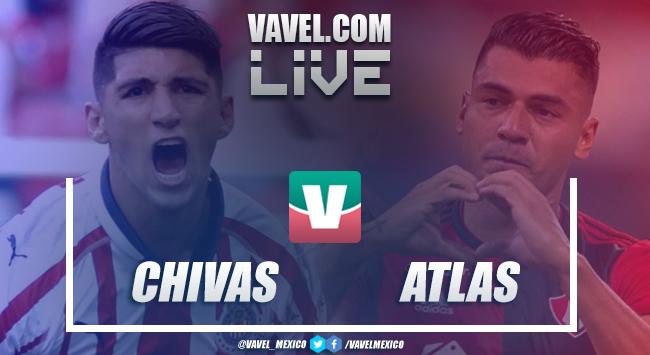 Resumen y goles del Chivas 3-0 Atlas en Liga MX 2019