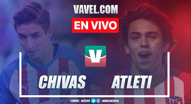 Resultado y goles del Chivas 0 (4)-(5) Atlético de Madriden ICC 2019