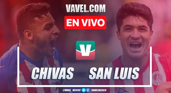 Chivas vs Atlético de San Luis EN VIVO online en Liga MX (3-0)