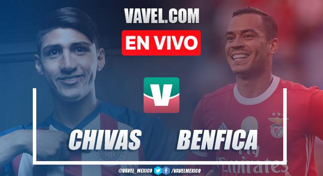 Resumen y goles Chivas 0-3 Benfica en International Champions Cup 2019