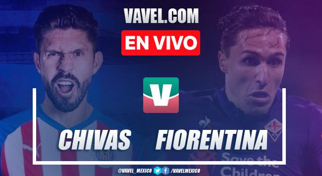 Chivas Guadalajara vs Fiorentina en vivo online minuto a minuto en ICC 2019