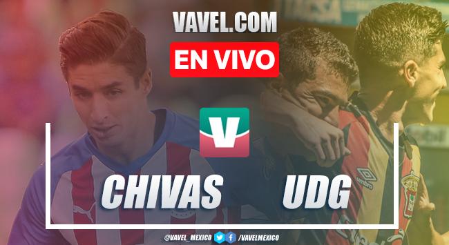 Resumen y goles Chivas 1-0 Leones Negros en partido amistoso