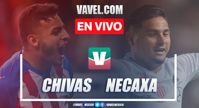Chivas Guadalajara vs Club Necaxa en vivo cómo ver transmisión TV online en Liga MX 2019 (0-0)