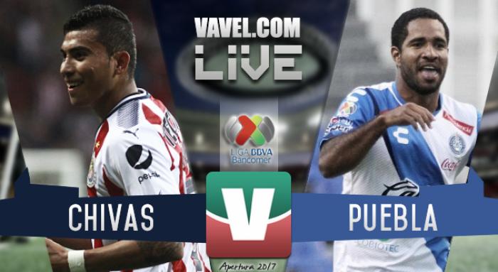 Resultado y goles del Chivas 0-1 Puebla de la Liga MX 2017