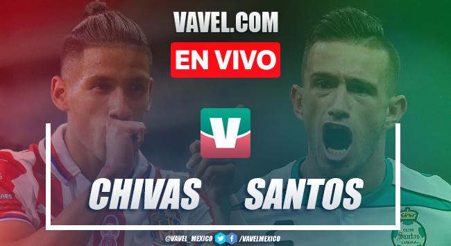 Resumen y gol:Chivas 1-0 Santos en Amistoso Pretemporada