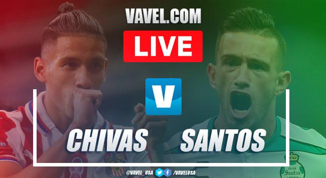 Goal and highlights:Chivas 1-0 Santos in Preseason Friendly