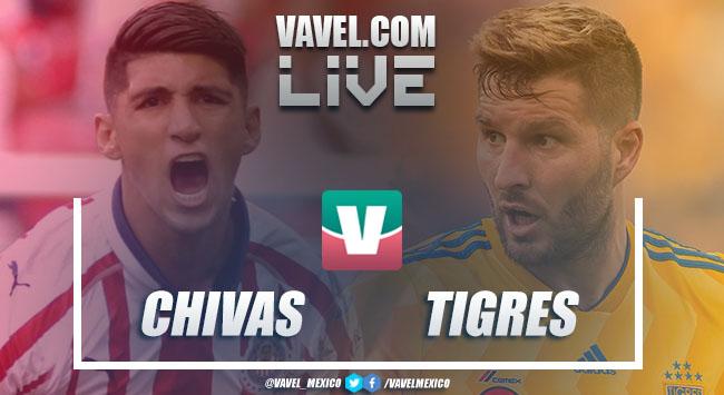 Resumen y goles Chivas 0-1 Tigres en Liga MX 2018
