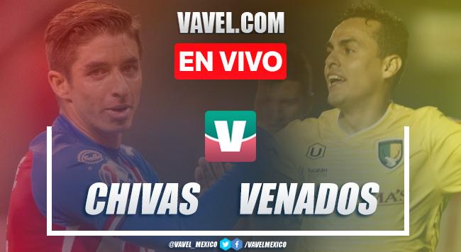 Resumen y gol: Chivas 1-0 Venados, pretemporada 2019