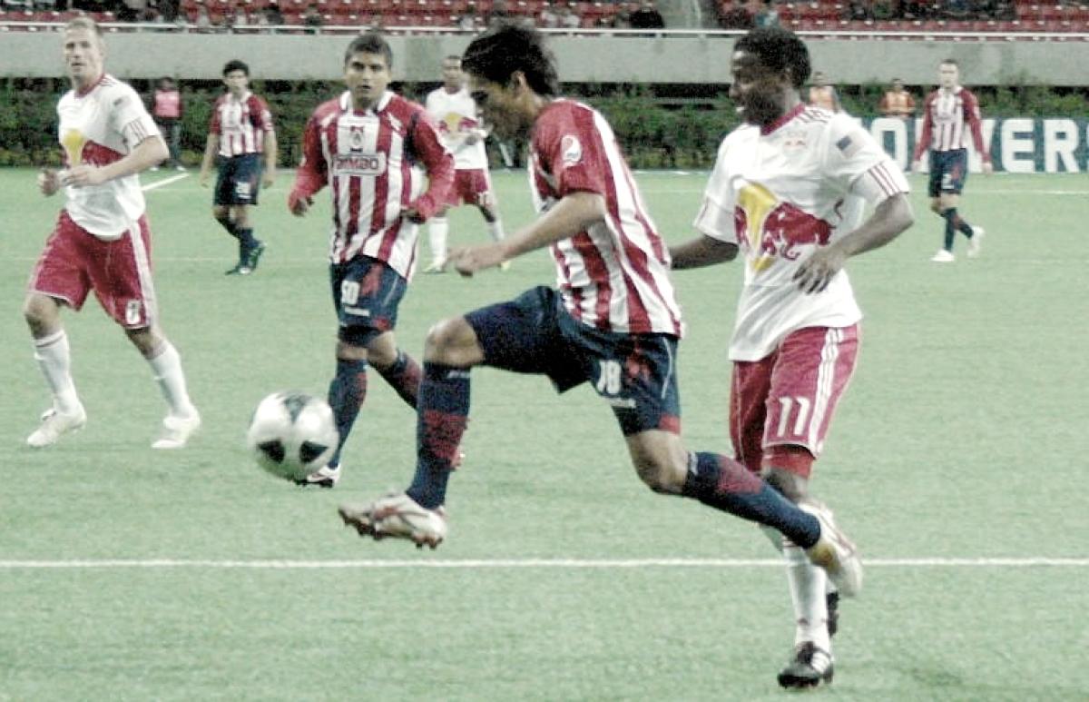 Chivas vs New Red Bull: ¿Se han enfrentado en alguna ocasión?