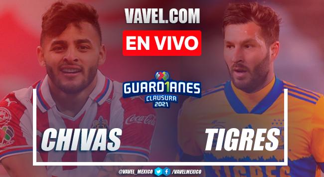 Resumen del Guadalajara 0-0 Tigres en la jornada 17 del Guard1anes 2021