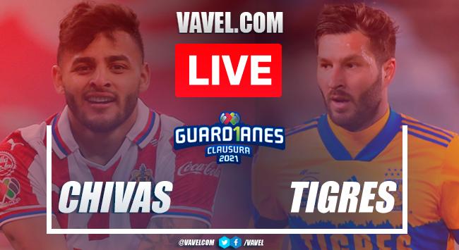 Highlights of Guadalajara 0-0 Tigres on Guard1anes 2021 Matchday 17