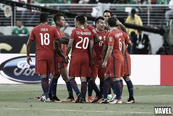 Copa America Centenario: Eduardo Vargas, Alexis Sánchez and Arturo Vidal shine for Chile against Mexico
