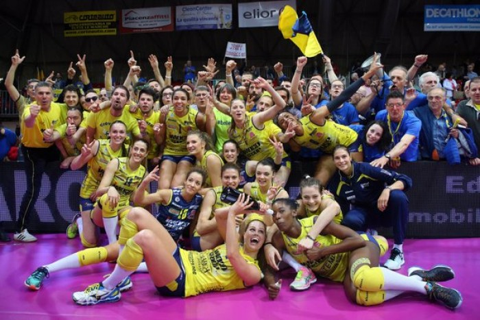 Pallavolo femminile - Conegliano corsara si impone a Piacenza e si porta sul 2-0 nella serie di finale scudetto