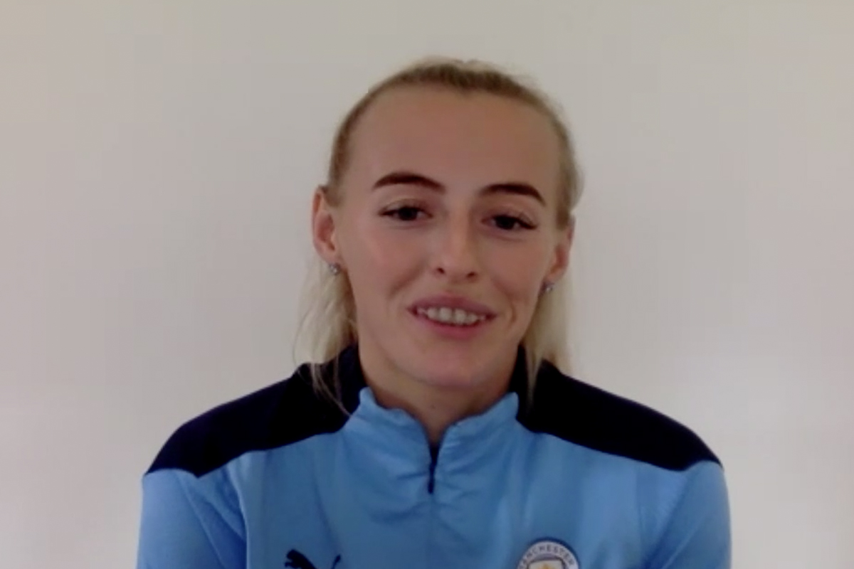 Chloe Kelly glad she 'made the right decision' to join Manchester City ahead of FA Cup final