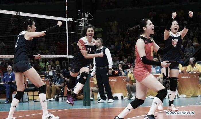 Voleibol Rio 2016: China destrona a Brasil en su 'templo'