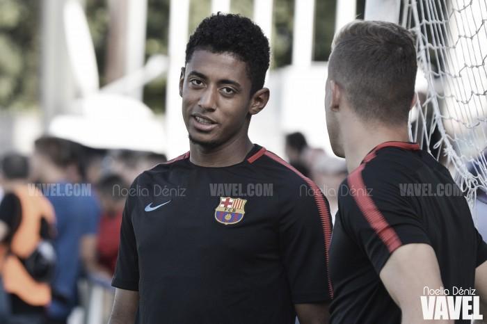 """'Choco' Lozano: """"Vine a aprender, el Barça es una gran escuela"""""""