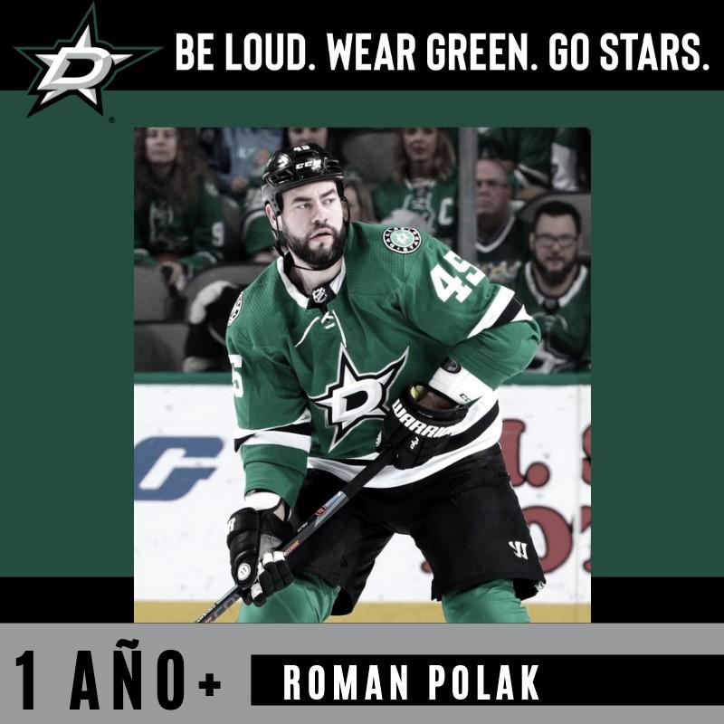 El defensa Polak firma por un año con Dallas Stars