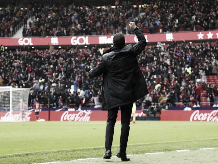 """Simeone admite dificuldade em triunfo contra o Getafe: """"Eles jogam com muita intensidade"""""""