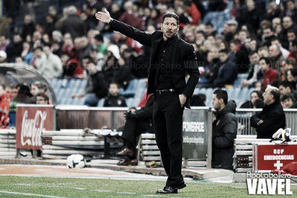 """Simeone: """"Hacer tresgoles no es fácil"""""""