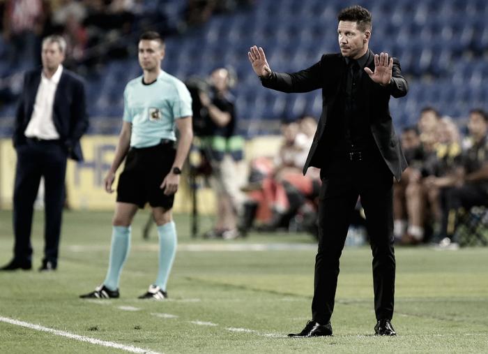 """Simeone: """"Sin la humildad para correr y defender no se hubiera llegado a este resultado"""""""