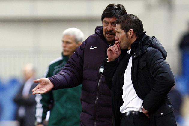 """Simeone: """"La decisión de que suba Asenjo es absolutamente mía"""""""