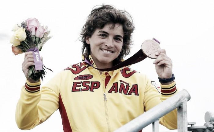 Maialen Chourraut con su medalla de bronce en Londres 2012 | Foto: Comité Olímpico Español
