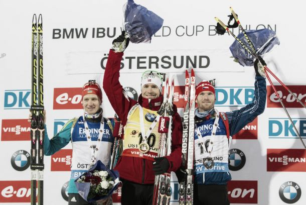 Biathlon, Individuale Oestersund: trionfa Svendsen, crolla Fourcade, sorprese azzurre