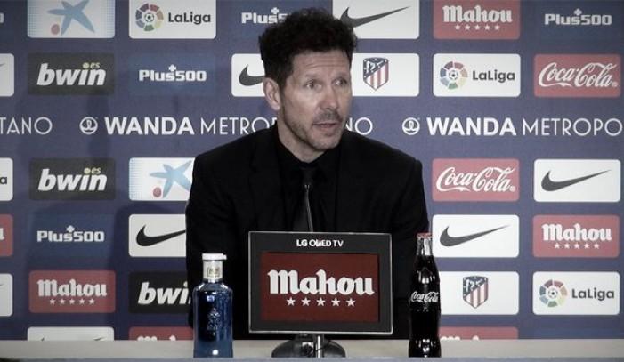 """Simeone: """"Me quedo con la capacidad de competir de la mejor manera"""""""