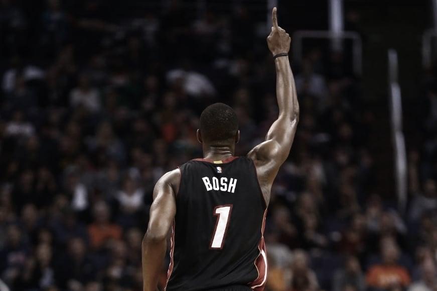 Chris Bosh: una odaa la persistencia