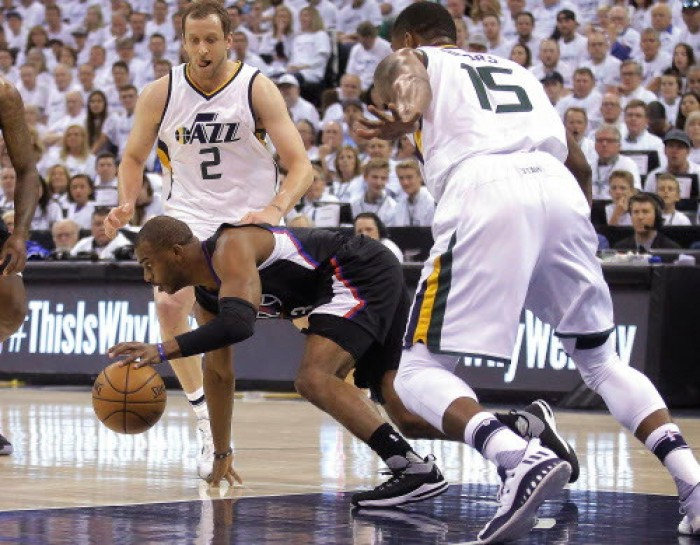 NBA Playoffs 2017 - Joe Johnson domina (ancora) il finale e la difesa dei Jazz su Chris Paul