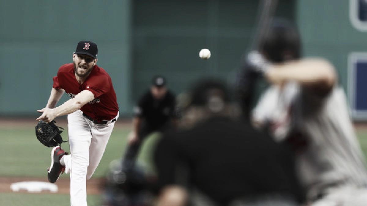Sale llega a 200 ponches en victoria de Boston